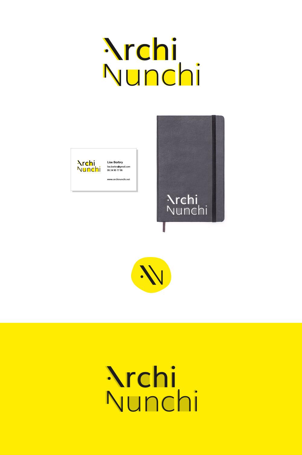 Création logo architecte Lyon