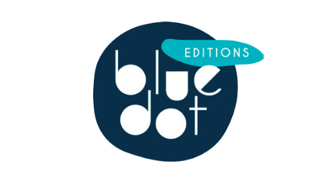 creation du logo de la maison d'édition Bluedot