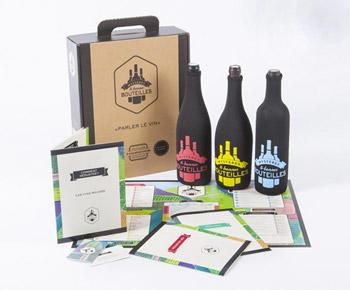 Graphiste pour un jeu de dégustation de vin : charte graphique web et print — Lyon