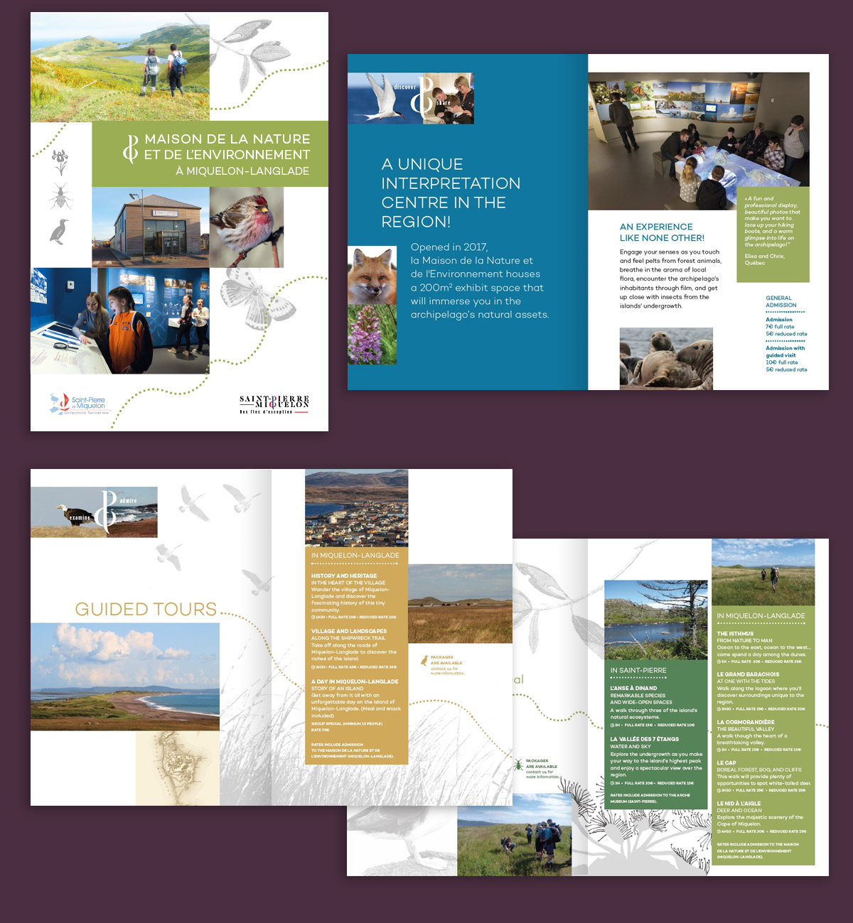 creation brochure touristique