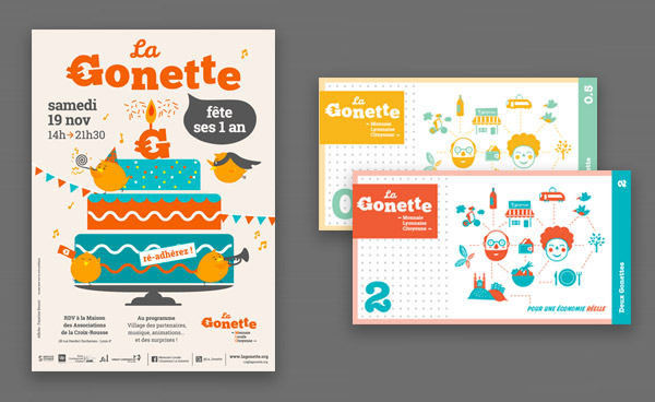 creation affiche Gonette