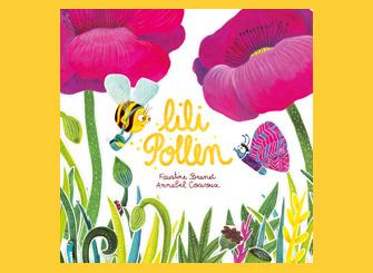 Illustration jeunesse pour le livre Lili Pollen