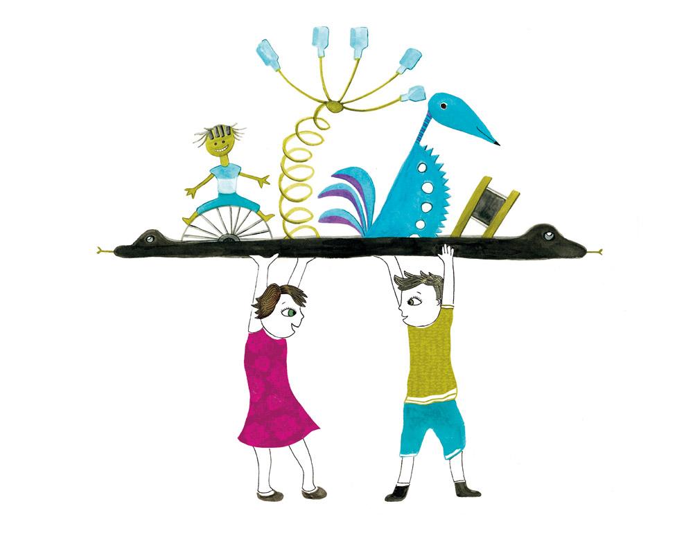 Illustratrice lyon histoire sur le th me du recyclage - Recyclage pour enfant ...