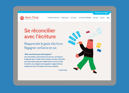 creation de site internet sur-mesure pour professionnels