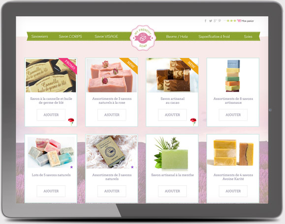 creation de sites internet e-commerce