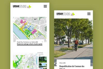 webdesigneuse pour site vitrine d'agence d'architecture